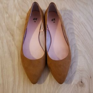 H&M Flats Camel Brown